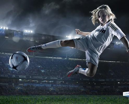 voetbalfoto